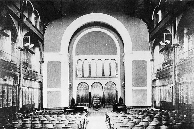 Bomberger Chapel: Original Edition