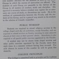UC Catelogue of 1926-1927