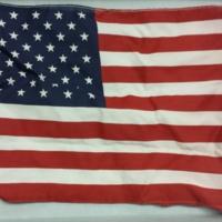 American Flag from 2002 Memorial